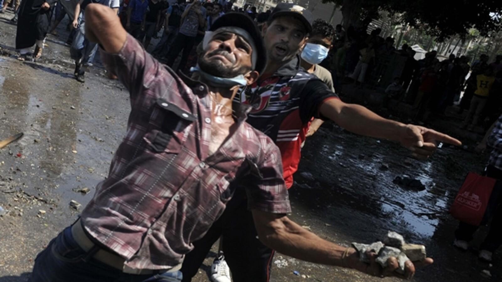 El Cairo protestas 1