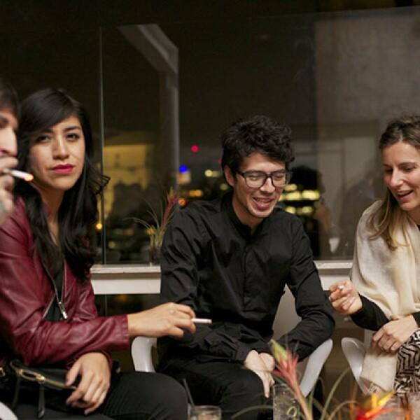 Mariano Aranja,Gisele Romero,Héctor Archuntia y Francesca Conti