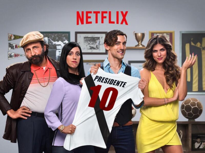 El actor y un gran elenco llegan en agosto a Netflix con la primera serie original en español para esta plataforma. Hoy estrenan el trailer que nos da a conocer más de la emocionante historia.
