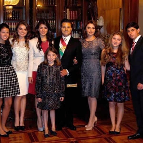 1 de diciembre Peña familia