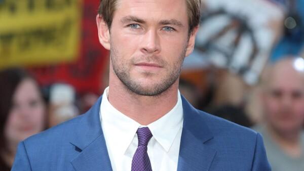 Chris Hemsworth a inicios del 2000 y ahora.