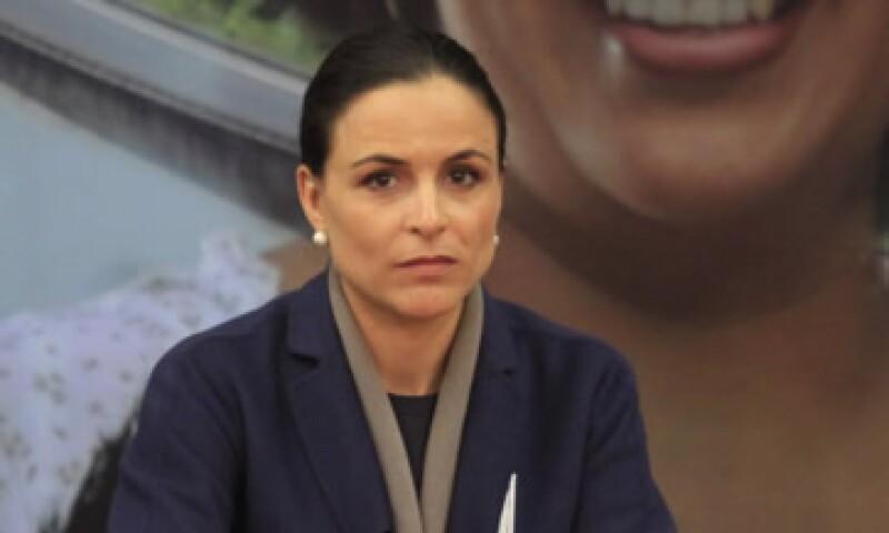 Alejandra Placios, presidenta de la Cofece, dijo que los directivos pueden reducir sanciones si admiten su culpabilidad. (Foto: Cuartoscuro )