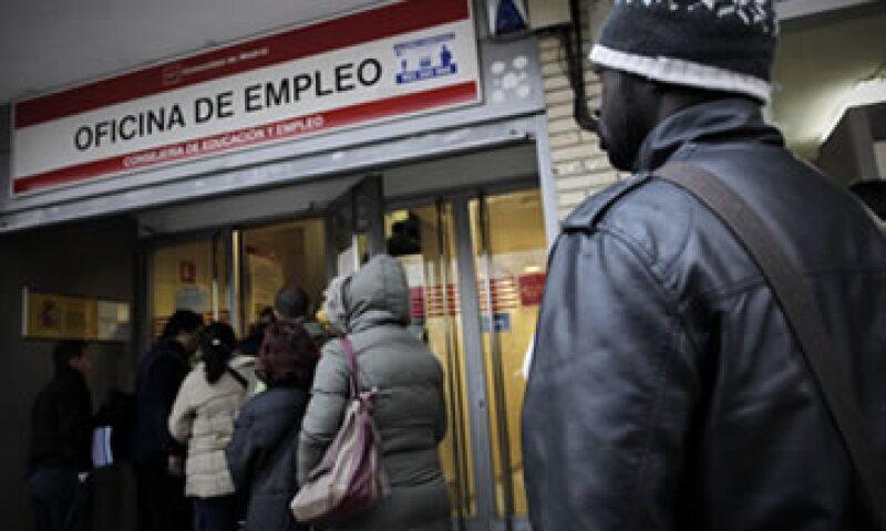 El desempleo en España duplica la media de la Unión Europea. (Foto: AP)