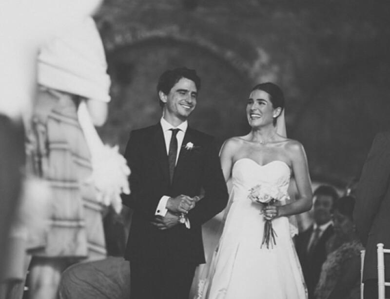 Karla Souza el día de su boda.