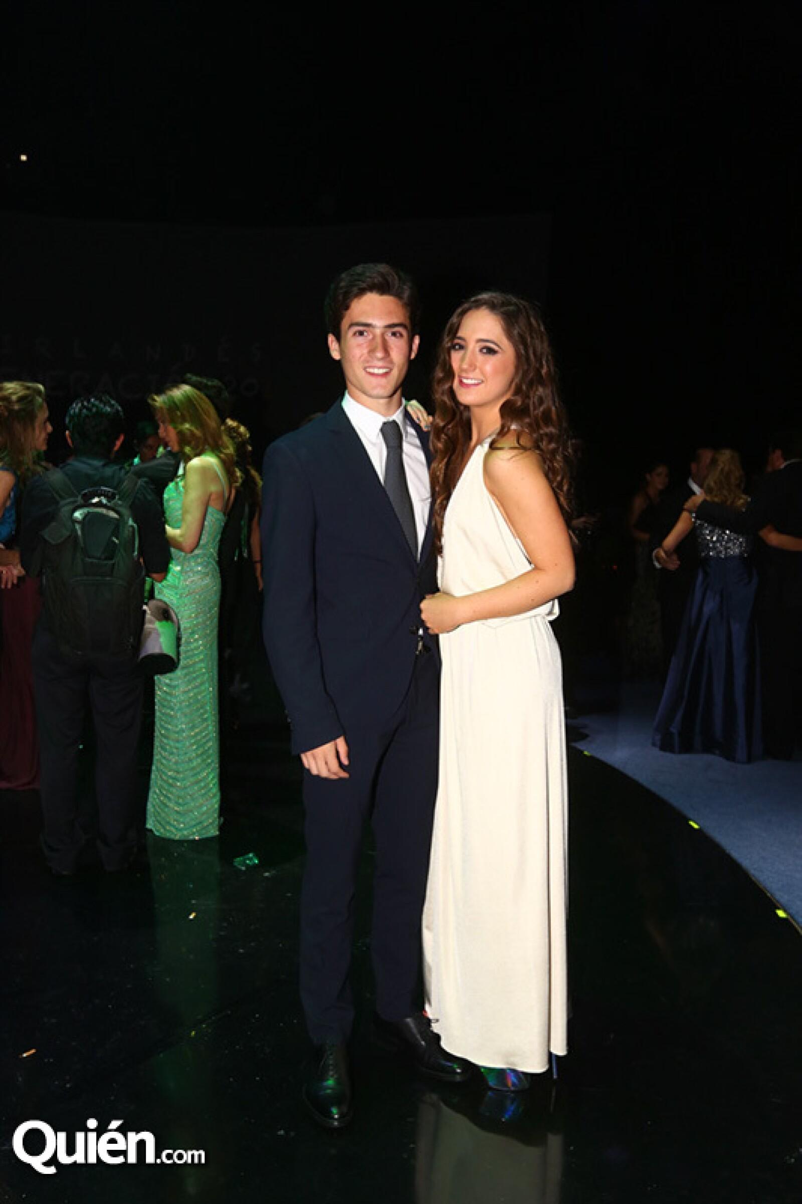 Patricio Dunan y Regina Cervantez