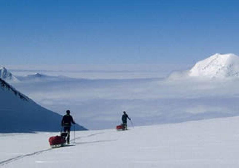 Además de las expediciones a la Antártida también se hacen excursiones al Nevado de Toluca en México. (Foto: Cortesia Vertical)