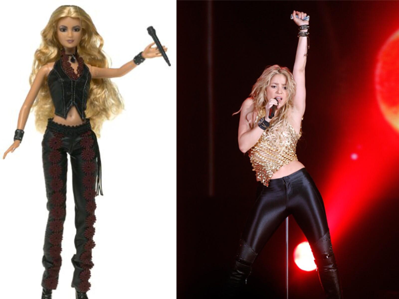 Shakira no sólo será recordada por quienes tengan en mente el movimiento de sus caderas, sino también por quienes compren su muñeca.