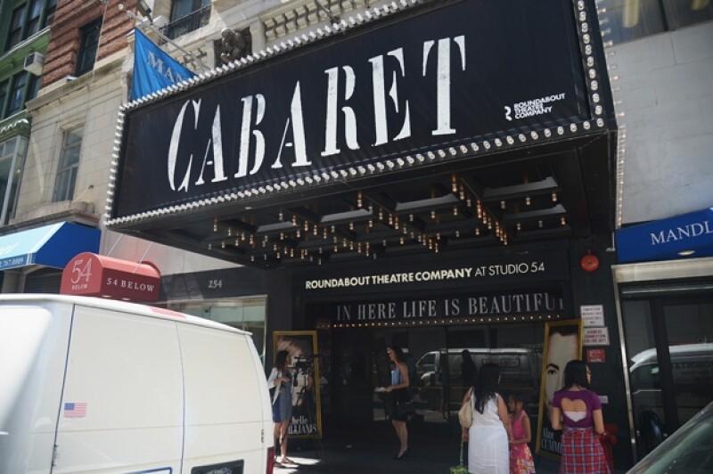 Shia había acudido a ver la obra Cabaret al Studio 54.