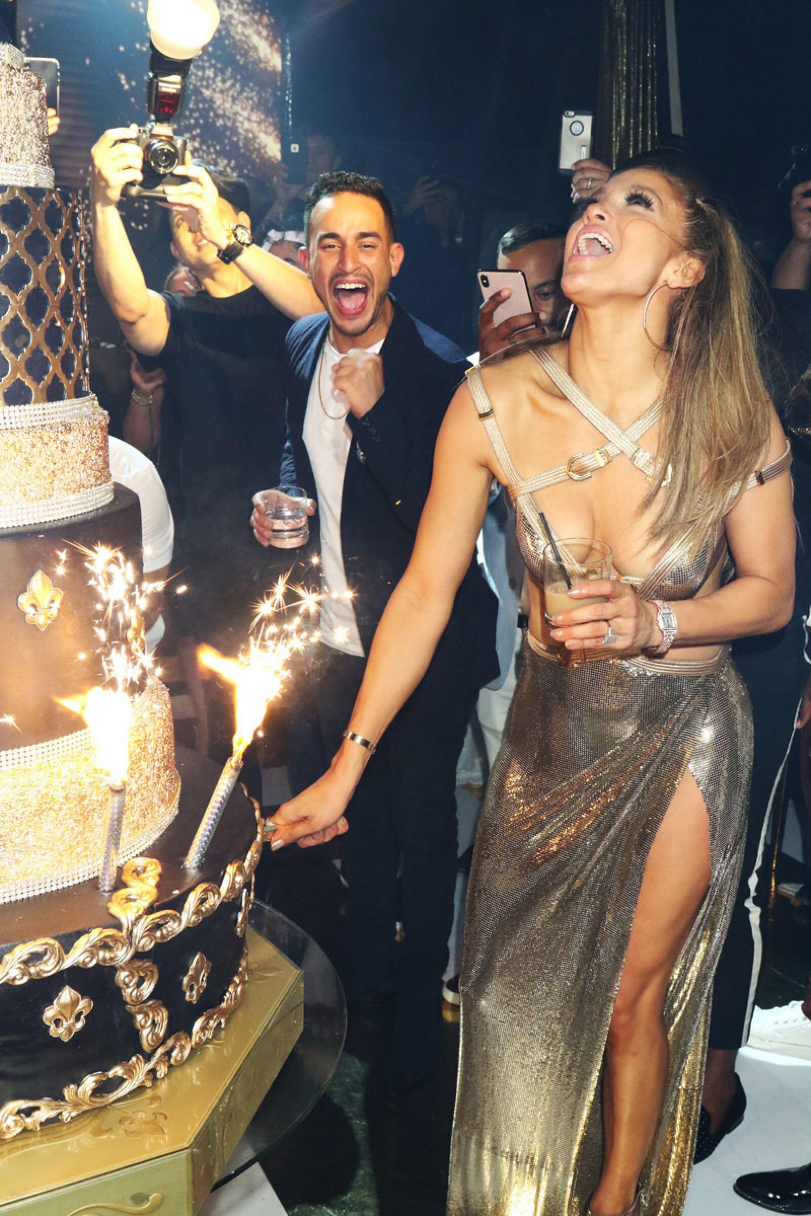 Jennifer Lopez 50th birthday celebration, Miami, Florida - 24 Jul 2019