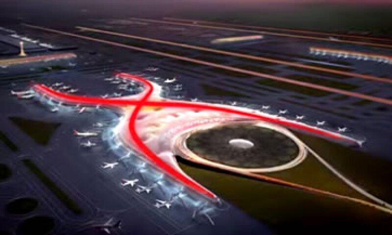 En julio pasado, El Gbierno lanzó licitaciones por 95,000 mdp para el aeropuerto. (Foto: Tomadad de aeropuerto.gob.mx )