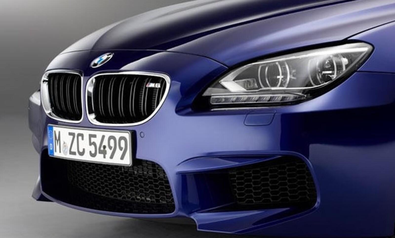 El diseño exterior del BMW M6 responde a las líneas características de la serie, que conjugan elegancia con dinamismo.