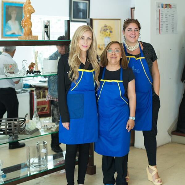 Alma Duarte, Marta Fuentes, Ana Luisa Garrido