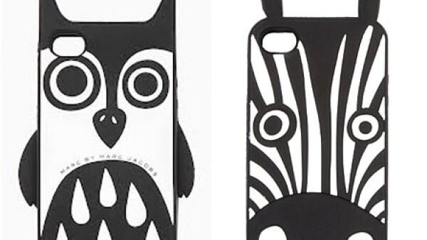 Una funda original para celular siempre es un buen detalle. Estos modelos de Marc by Marc Jacobs son divertidos y originales.