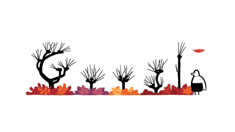 Google doodle otoño