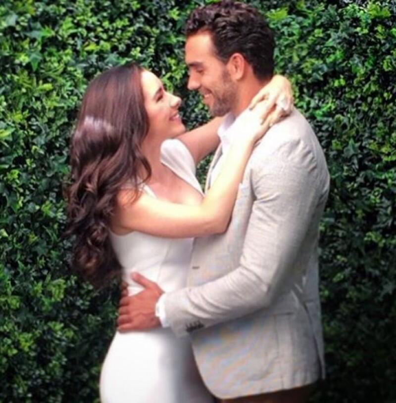 La actriz anunció con mucha emoción que el primer hijo que tendrá con Marcus Ornellas se llamará Diego, nombre que eligieron entre los dos.