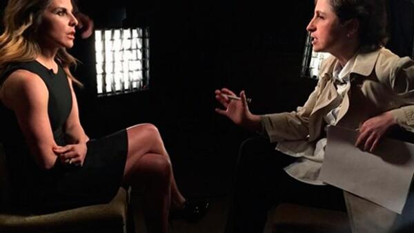 """La actriz ofreció una entrevista en Los Ángeles a Carmen Aristegui para CNN, de la cual anoche se transmitió una primera parte, misma en la que afirma haberse sentido """"usada"""" por  Sean Penn."""