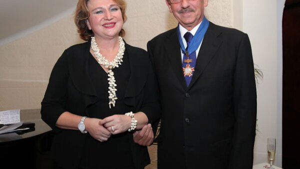 Anna Niewiadomska y Marek Keller
