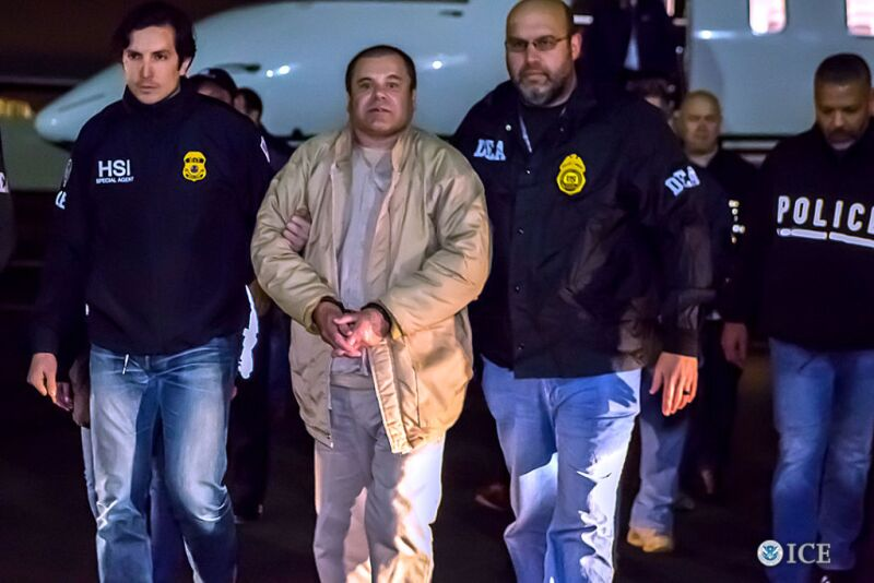 """Joaquin """"El Chapo"""",? Guzman Loera to appear in Brooklyn federal court on allegations of leading a continuing criminal enterprise, other drug-related charges"""