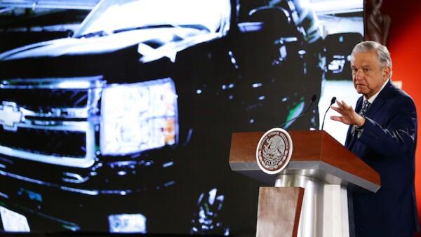 Andrés Manuel López Obrador anuncia la subasta de vehículos del gobierno