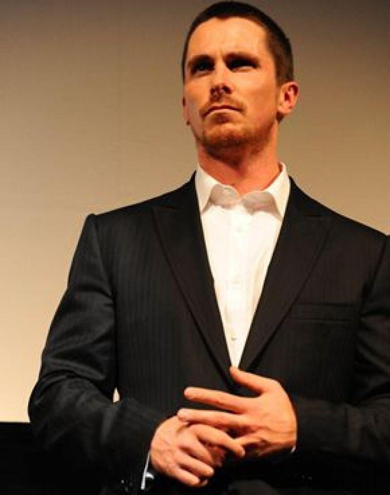 El actor admitió que su sarta de insultos en el plató de &#39&#39Terminator Salvation&#39&#39 era inexcusable.