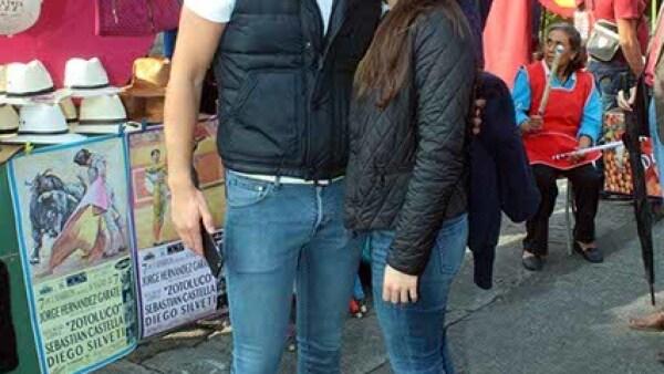 Santiago Cortes y Paola Chagoyan