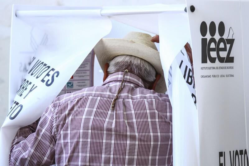 Los zacatecanos elegirán al gobernador, al congreso local y a los 58 alcaldes de la entidad.