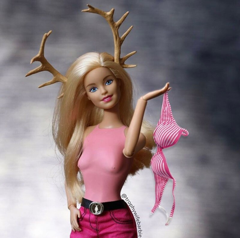 Barbie trophy