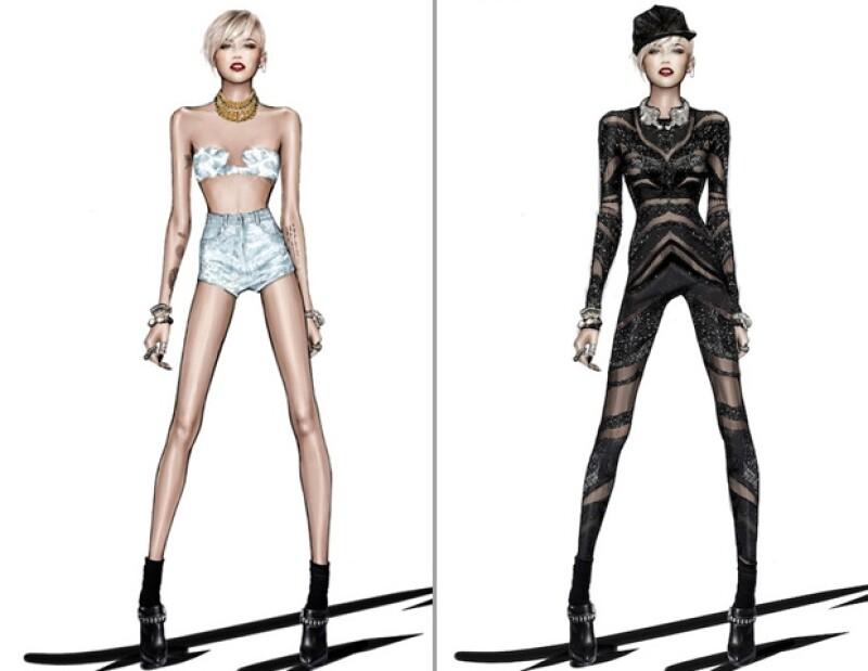Como era de esperarse Miley dejará ver su gusto por la moda.