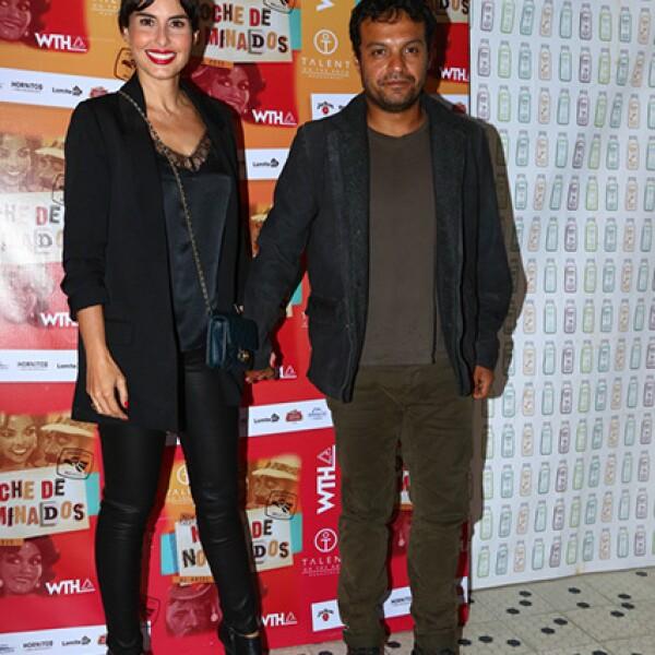 Ana Serradilla y su novio Julian Román