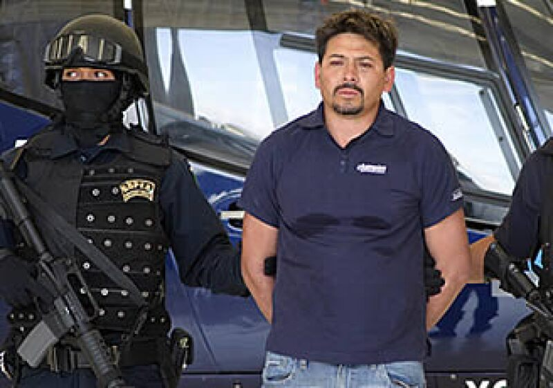 Arnoldo Rueda Medina alias La Minsa, fue capturado en Michoacán.