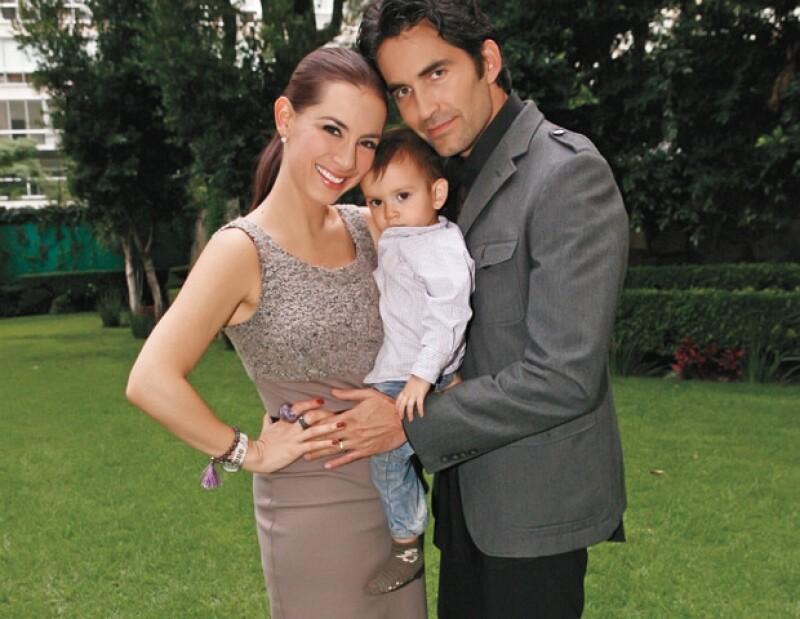 Claudia ha formado una bonita familia.