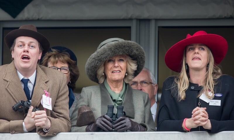 Duchess Of Cornwall Attends Cheltenham Races Ladies Day