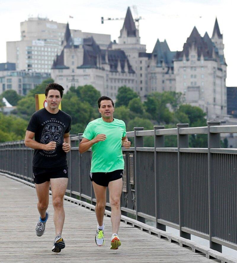 Lo que más impresionó fue lo apuesto que se veía el primer ministro canadiense.