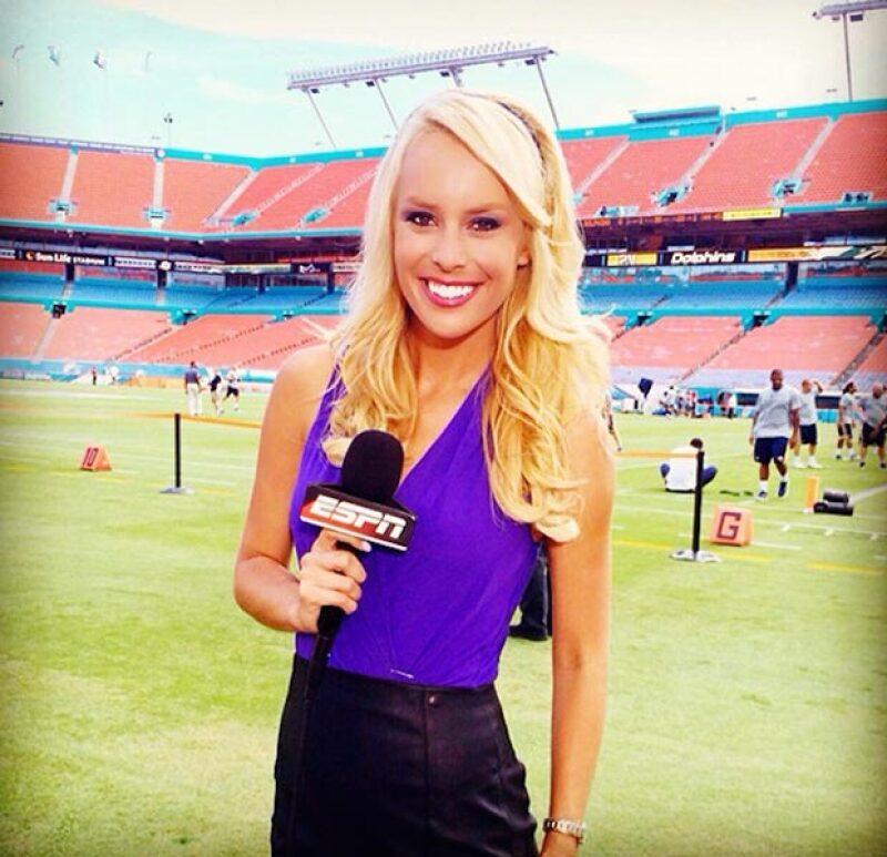 Britt McHenry fue suspendida del canal de deportes luego de que se divulgara un video en el que ofende a la empleada de una compañía de grúas luego de ser multada.