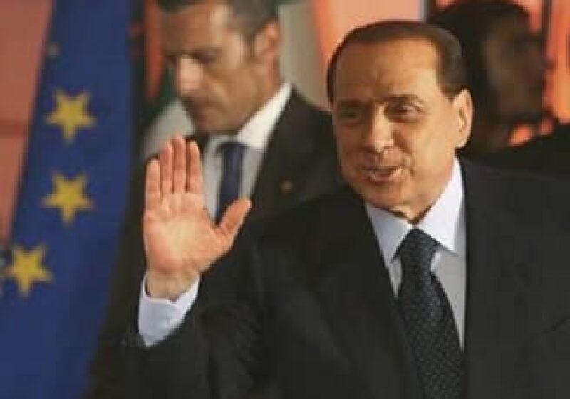 Silvio Berlusconi, primer ministro de Italia, considera que es difícil llegar a un acuerdo en la Cumbre del G8. (Foto: Reuters)