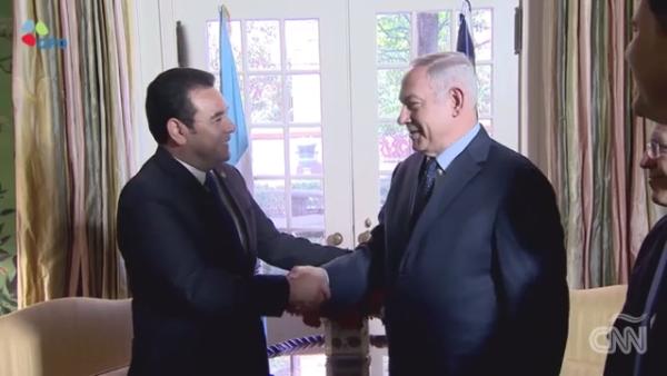 Netanyahu se conmueve por la apertura de la embajada de Guatemala en Jerusalén