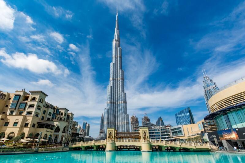 Burj Khalifa de Dubái