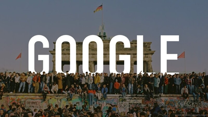 Muro de Berlín Google