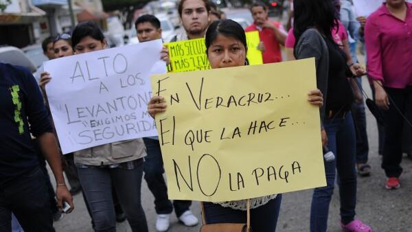 Ciudadanos de Coatzacoalcos piden seguridad