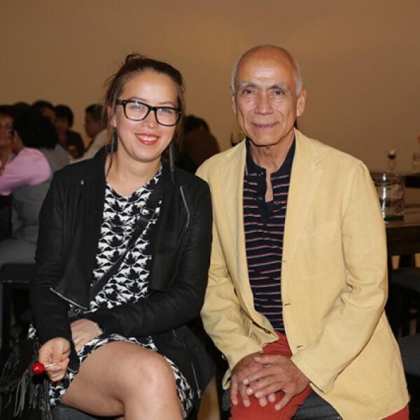Ana Sofía León y Eduardo Ángeles Cano