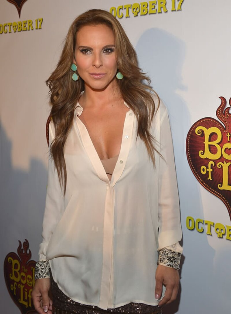 La actriz se ha sumado al gran número de figuras públicas mexicanas que han criticado a la familia Trump, aunque en su caso ha arremetido contra Donald Trump hijo.