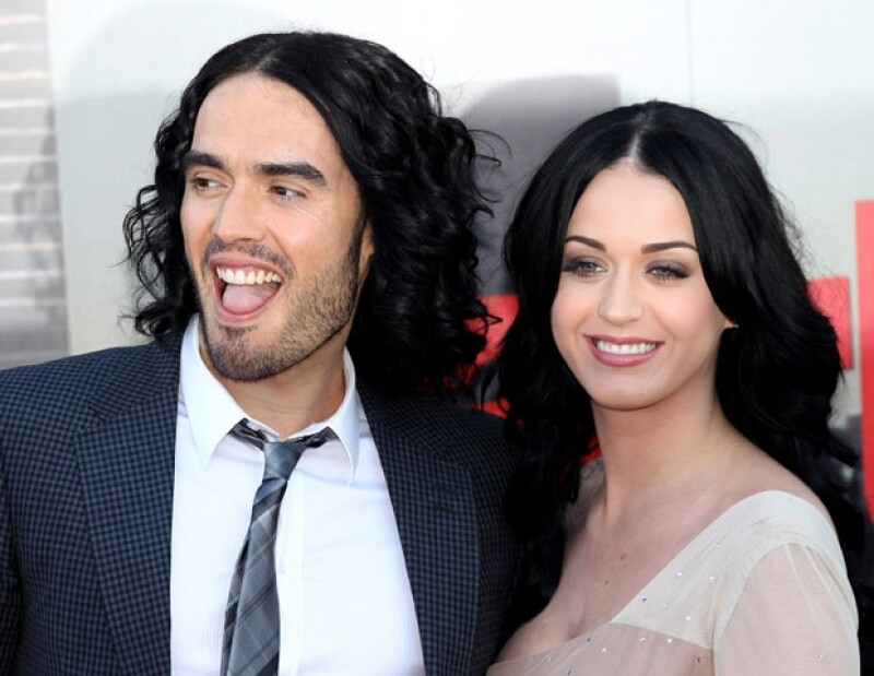 Perry y Russell se separaron 14 meses después de haberse casado.