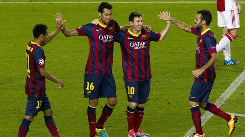 barcelona ajax liga de campeones