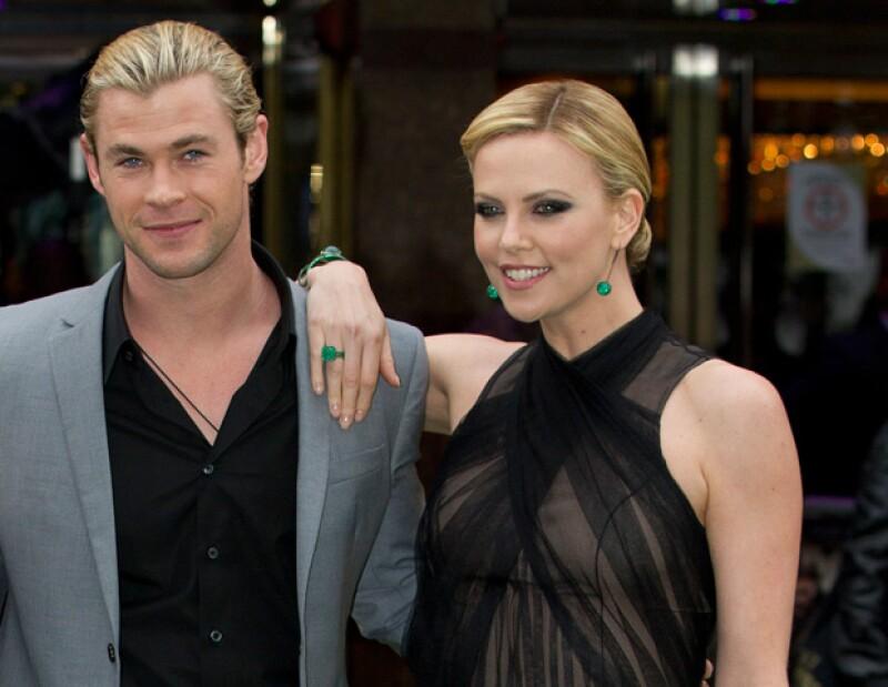 La actriz sudafricana tiene pensado regalar la ropa que ya le haya quedado pequeña a su hijo Jackson -de seis meses, a la pequeña India, hija de la actriz española y Chris Hemsworth.