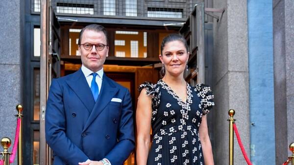 Victoria de Suecia y el príncipe Daniel