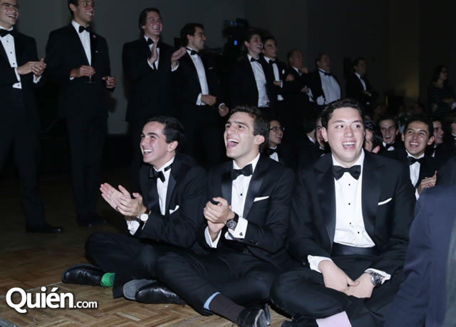 Eduardo Sánchez,Antonio Talayero y Rodrigo Watson