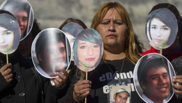 Grupos ciudadanos participan en manifestaciones para pedir que sean encontradas las personas desaparecidas y se haga justicia (Foto: Cuartoscuro/Archivo)