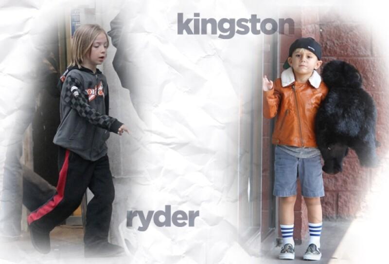 Tanto Ryder como Kingston buscan un estilo propio.