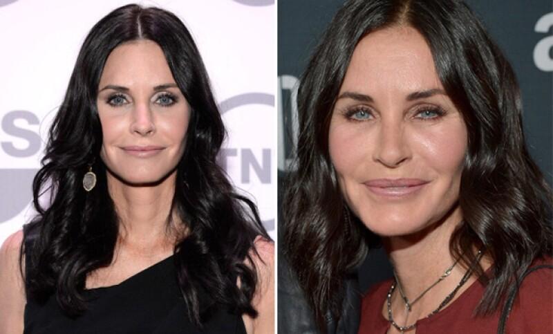 Ahora es la protagonista de la memorable serie Friends la que nos sorprendió en su reciente aparición durante un evento en Los Ángeles.