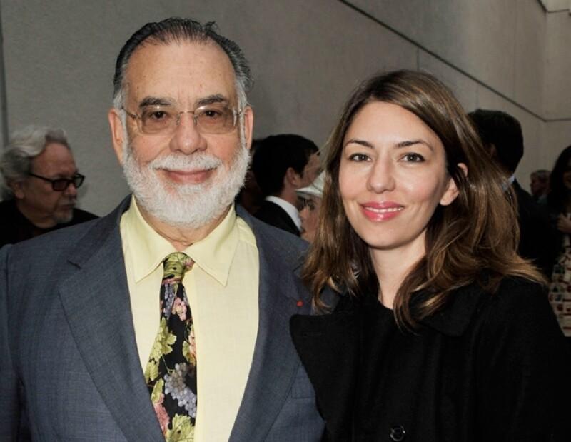 Francis Ford Coppola y su hija Sofia